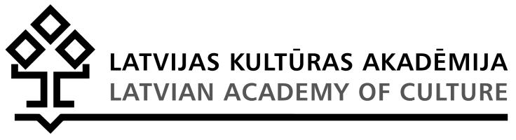 Latvijas Kultūras akadēmijas e-studijas